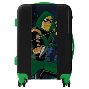 Justice League Action | Green Arrow Character Art Luggage