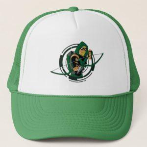 Justice League Action | Green Arrow Character Art Trucker Hat