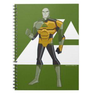 Justice League Action | Lex Luthor & Lexcorp Logo Notebook