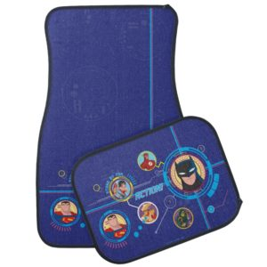 Justice League Action | Stand By For Action Car Floor Mat