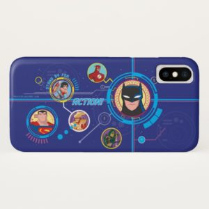 Justice League Action | Stand By For Action Case-Mate iPhone Case