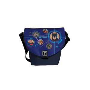 Justice League Action | Stand By For Action Courier Bag