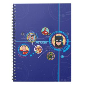Justice League Action | Stand By For Action Notebook