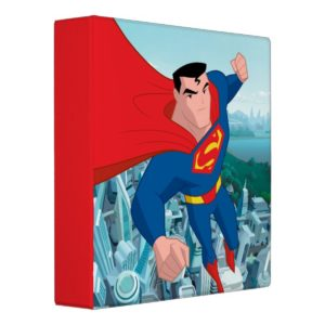 Justice League Action | Superman Character Art 3 Ring Binder