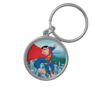 Justice League Action | Superman Character Art Keychain