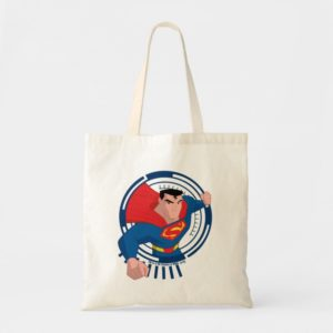 Justice League Action | Superman Character Art Tote Bag