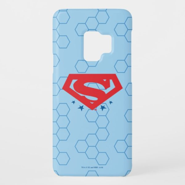 Justice League Action | Superman Logo Case-Mate Samsung Galaxy S9 Case