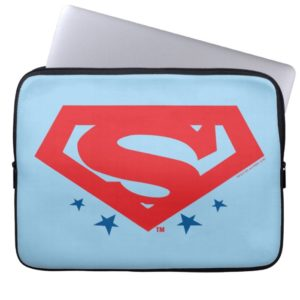 Justice League Action | Superman Logo Computer Sleeve