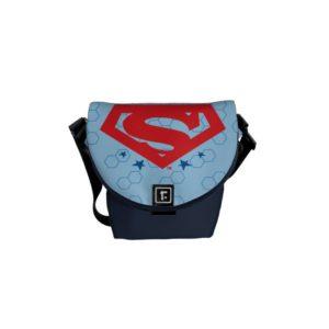 Justice League Action | Superman Logo Courier Bag
