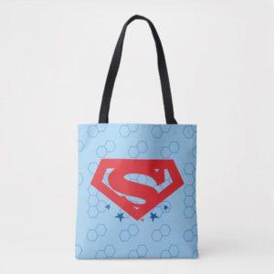 Justice League Action | Superman Logo Tote Bag