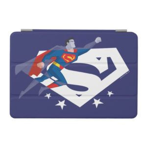 Justice League Action | Superman Over S-Shield iPad Mini Cover