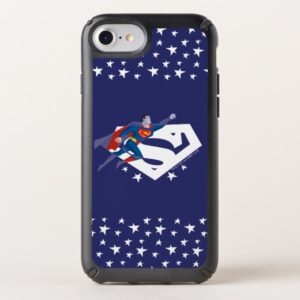 Justice League Action | Superman Over S-Shield Speck iPhone Case