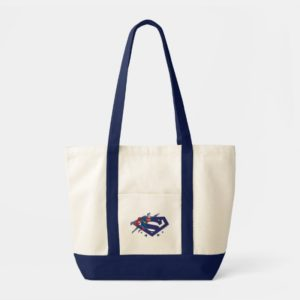 Justice League Action | Superman Over S-Shield Tote Bag
