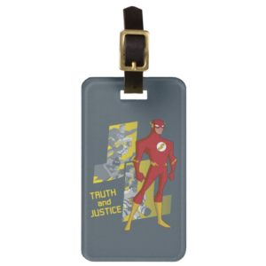 Justice League Action | Truth And Justice Bag Tag