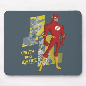 Justice League Action | Truth And Justice Mouse Pad
