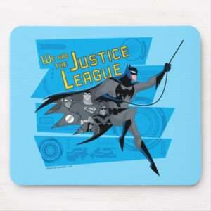 Justice League Action   We Are The Justice League Mouse Pad