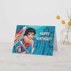 Justice League Action | Wonder Woman Character Art Card