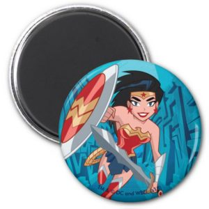 Justice League Action | Wonder Woman Character Art Magnet