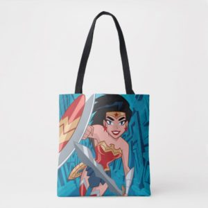 Justice League Action | Wonder Woman Character Art Tote Bag