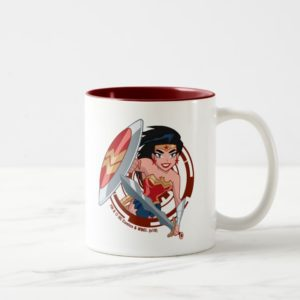 Justice League Action | Wonder Woman Character Art Two-Tone Coffee Mug