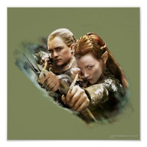 LEGOLAS GREENLEAF™ and TAURIEL™ Graphic Poster