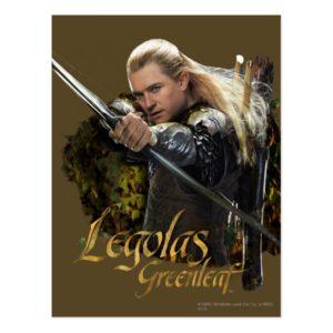 LEGOLAS GREENLEAF™ Drawing Bow Graphic Postcard