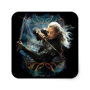LEGOLAS GREENLEAF™ Graphic Square Sticker