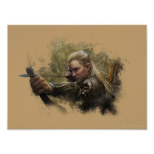 LEGOLAS GREENLEAF™ Sketch Poster