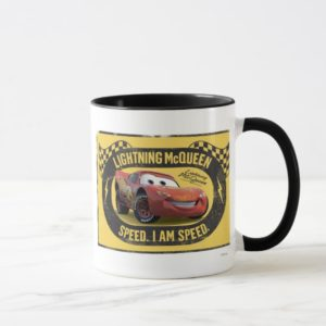 Lightning McQueen - Speed. I Am Speed Disney Mug