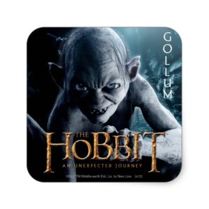 Limited Edition Artwork: GOLLUM™ Square Sticker