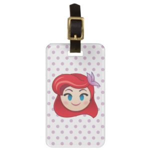 Little Mermaid Emoji | Princess Ariel Luggage Tag
