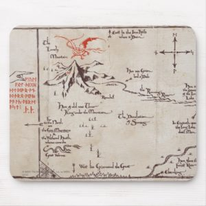 Lonely Mountain Mouse Pad
