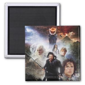LOTR Character Collage Magnet