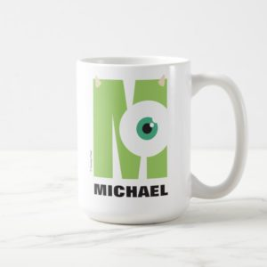 M is for Mike   Add Your Name Coffee Mug