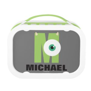 M is for Mike   Add Your Name Lunch Box