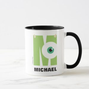 M is for Mike | Add Your Name Mug