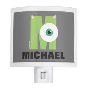 M is for Mike | Add Your Name Night Light