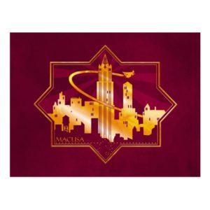 MACUSA™ Graphic Badge Postcard