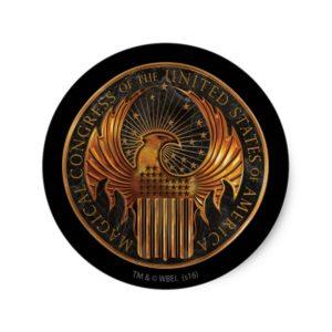 MACUSA™ Medallion Classic Round Sticker