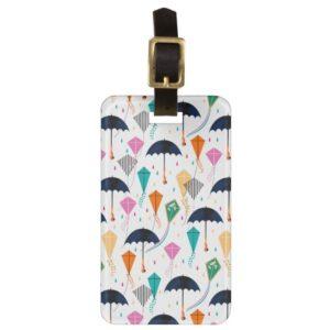 Magic Fills the Air Kite Pattern Bag Tag