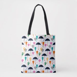 Magic Fills the Air Kite Pattern Tote Bag