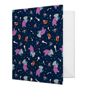 Mary Poppins | All Mixed Up Pattern 3 Ring Binder