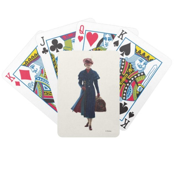 Mary Poppins Bicycle Playing Cards