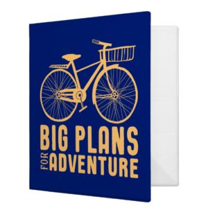 Mary Poppins | Big Plans for Adventure 3 Ring Binder