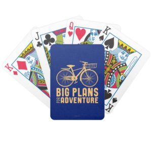 Mary Poppins   Big Plans for Adventure Bicycle Playing Cards