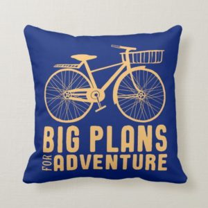 Mary Poppins | Big Plans for Adventure Throw Pillow