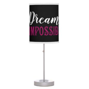 Mary Poppins | Dream the Impossible Quote Desk Lamp