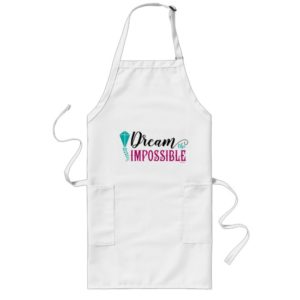 Mary Poppins | Dream the Impossible Quote Long Apron
