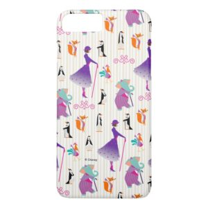 Mary Poppins & Friends Striped Pattern Case-Mate iPhone Case
