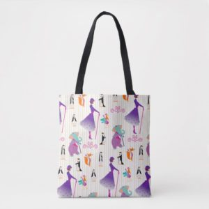 Mary Poppins & Friends Striped Pattern Tote Bag